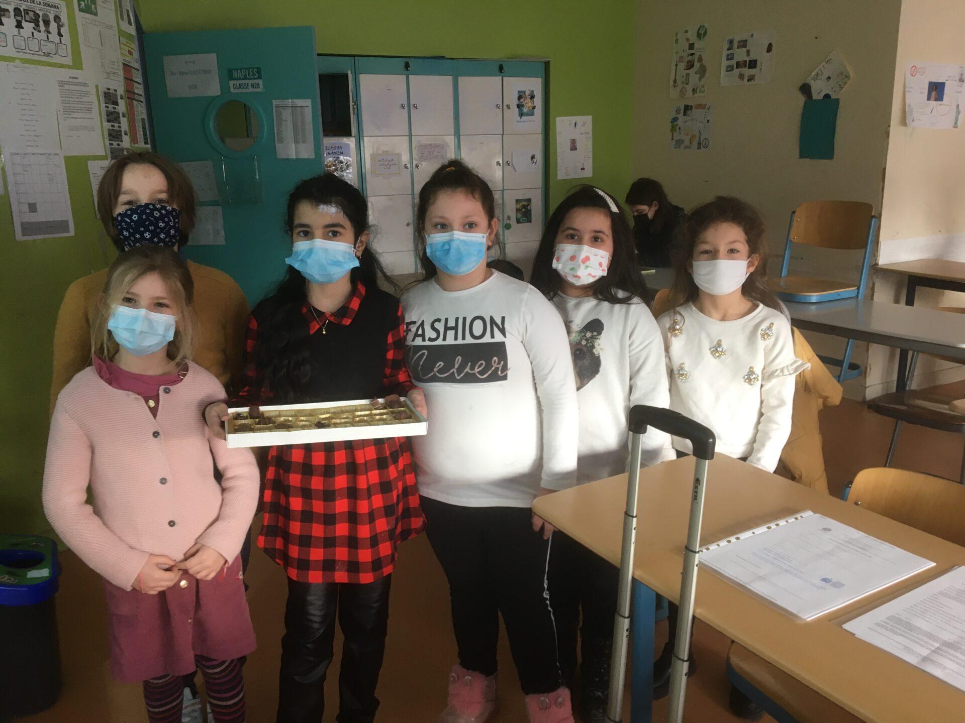 Рожден ден в детската градина на българско училище в Париж Паисий Хилендарски